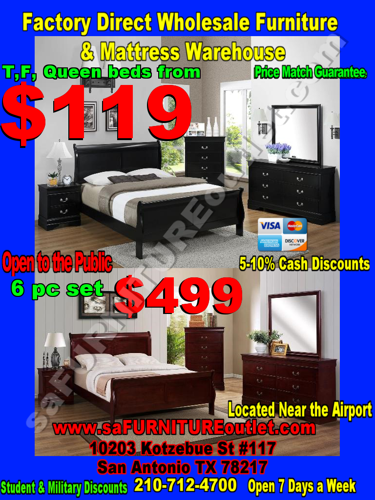 Bedroom Sets : SA Furniture, San Antonio Furniture of Texas