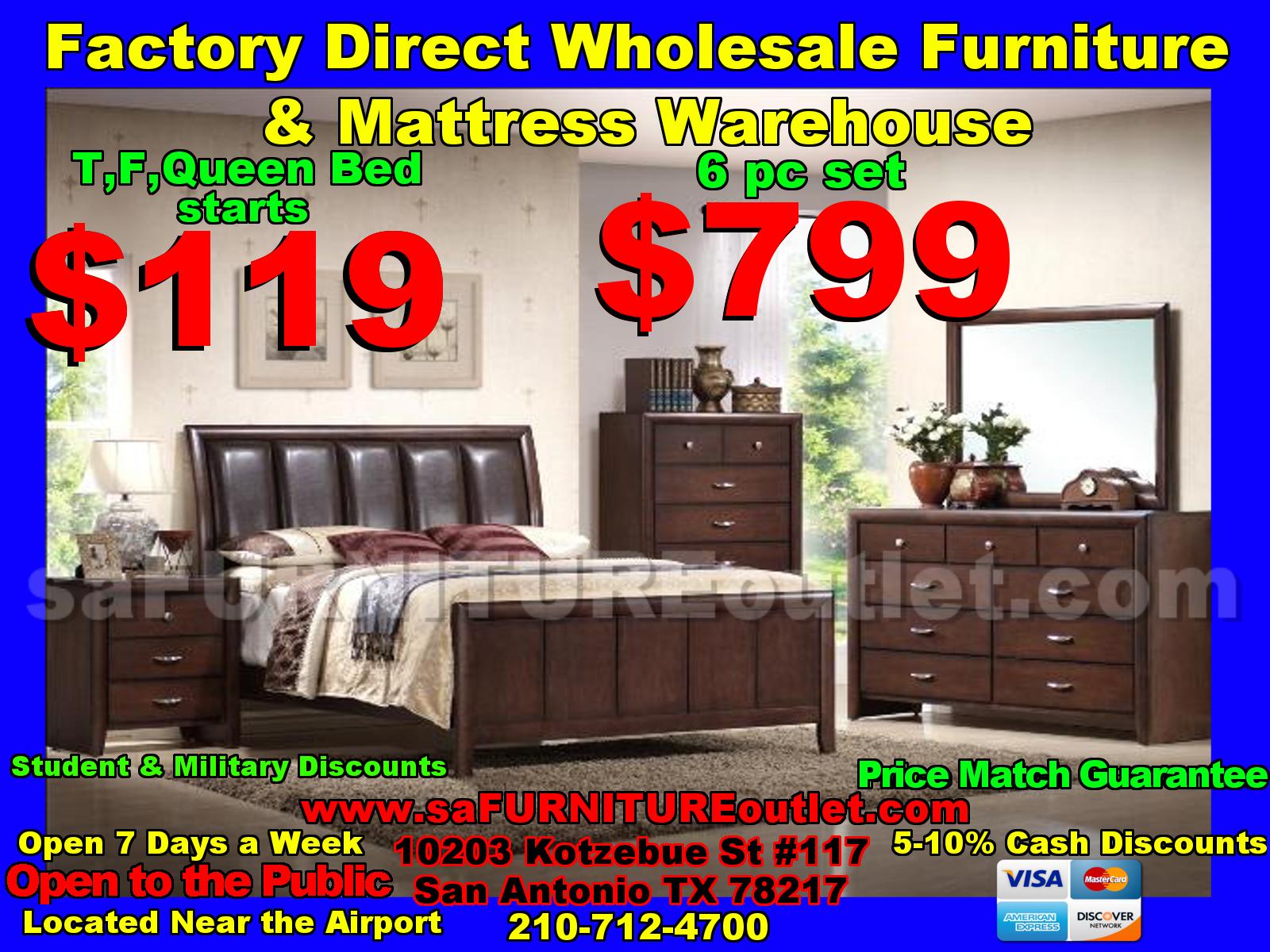 Bedroom Sets : SA Furniture, San Antonio Furniture of Texas