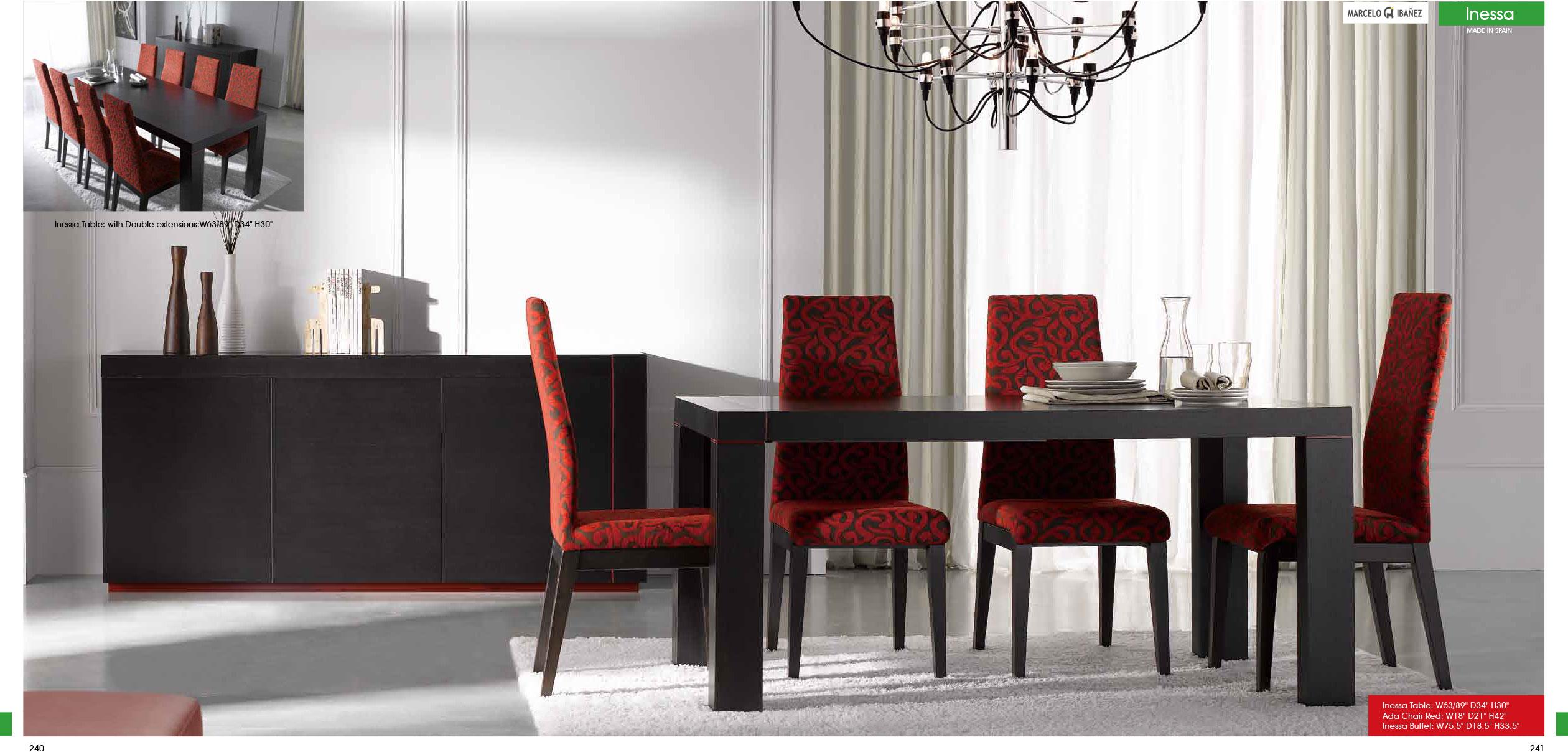 Inessa 5pc Dining set - $2,349.00 : SA Furniture, San Antonio ...