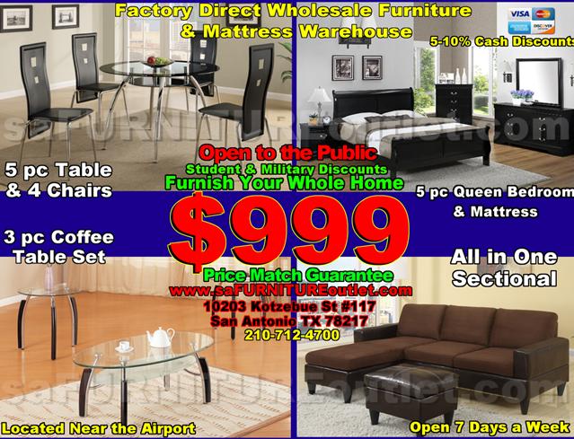 Furnish Whole Apartment For 999 Sa